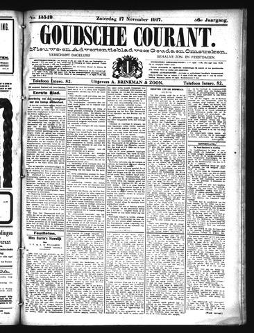 Goudsche Courant 1917-11-17