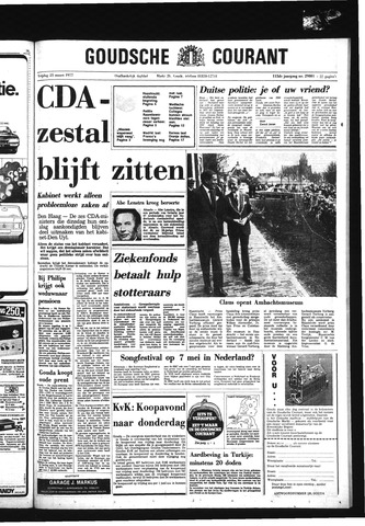 Goudsche Courant 1977-03-25