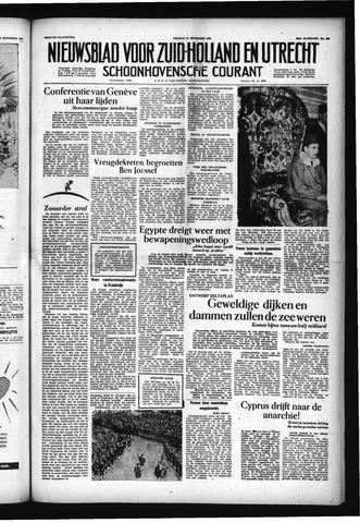 Schoonhovensche Courant 1955-11-18