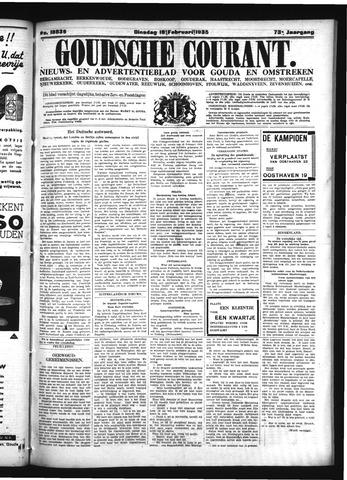 Goudsche Courant 1935-02-19