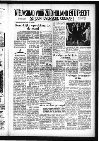 Schoonhovensche Courant 1953-09-14