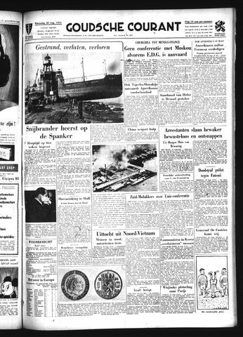 Goudsche Courant 1954-08-18