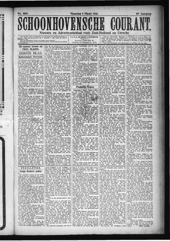 Schoonhovensche Courant 1923-03-05