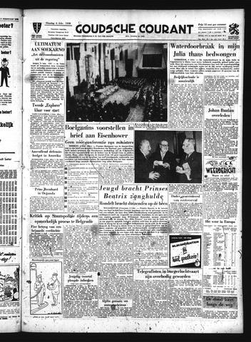 Goudsche Courant 1958-02-04
