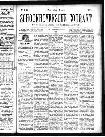 Schoonhovensche Courant 1891-06-03