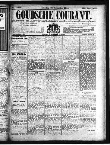 Goudsche Courant 1914-11-10