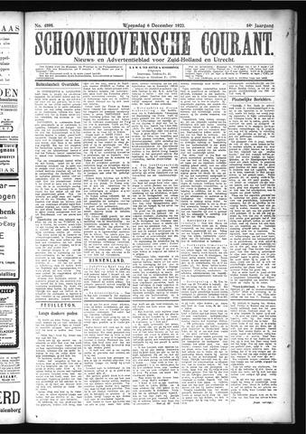 Schoonhovensche Courant 1922-12-06