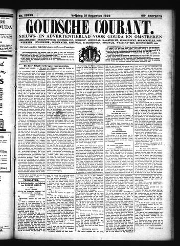 Goudsche Courant 1925-08-21