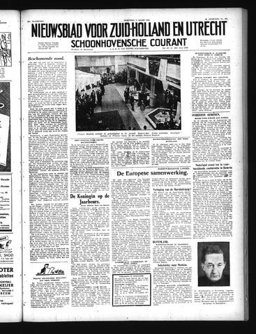 Schoonhovensche Courant 1949-03-30