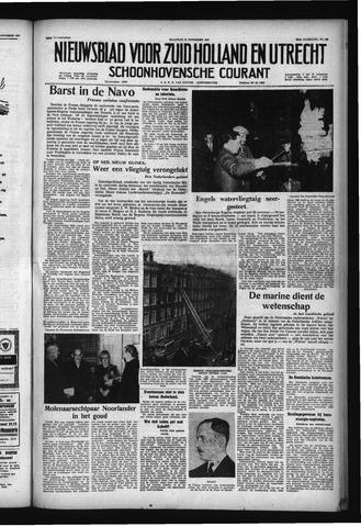 Schoonhovensche Courant 1957-11-18