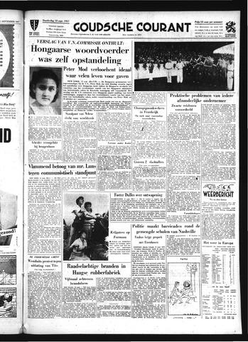 Goudsche Courant 1957-09-12