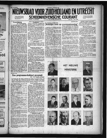 Schoonhovensche Courant 1948-08-09
