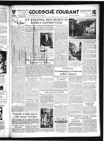 Goudsche Courant 1951-02-14
