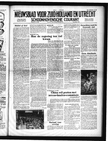 Schoonhovensche Courant 1951-01-26