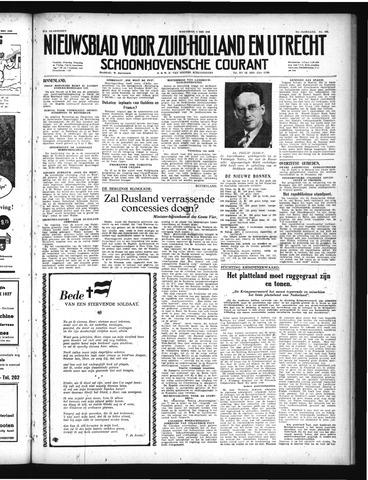Schoonhovensche Courant 1949-05-04