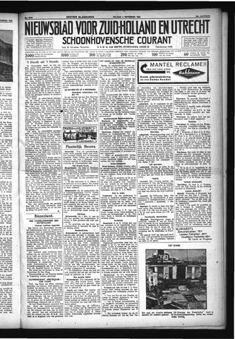 Schoonhovensche Courant 1932-11-04