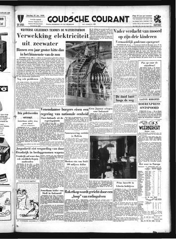 Goudsche Courant 1958-01-25