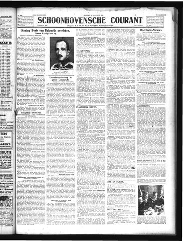 Schoonhovensche Courant 1943-08-31