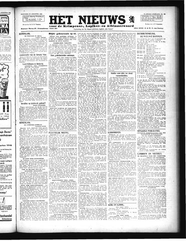 Schoonhovensche Courant 1946-08-28