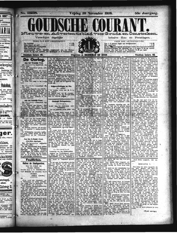Goudsche Courant 1916-11-10