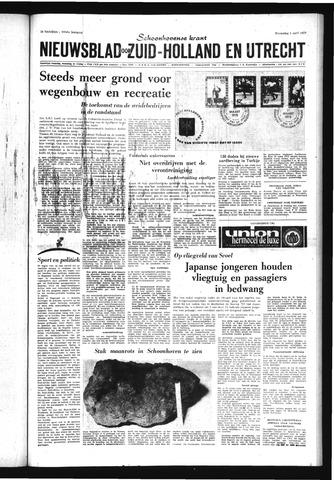 Schoonhovensche Courant 1970-04-01