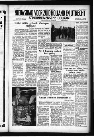 Schoonhovensche Courant 1957-10-07