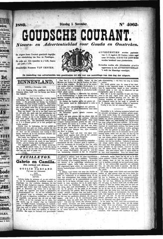 Goudsche Courant 1889-11-05