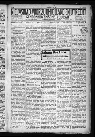 Schoonhovensche Courant 1930-07-18