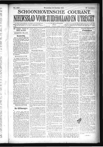 Schoonhovensche Courant 1927-10-26