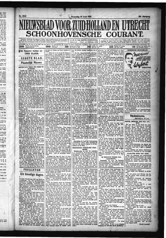Schoonhovensche Courant 1928-06-20