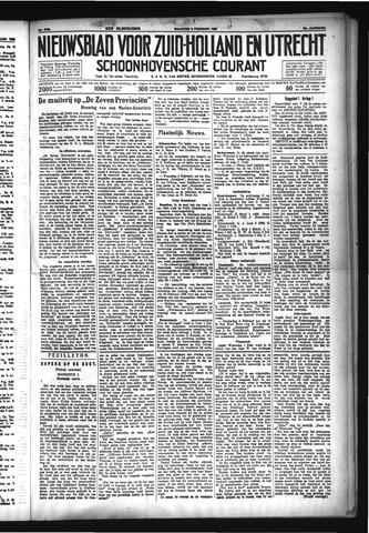 Schoonhovensche Courant 1933-02-06