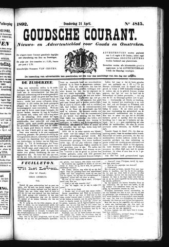 Goudsche Courant 1892-04-21