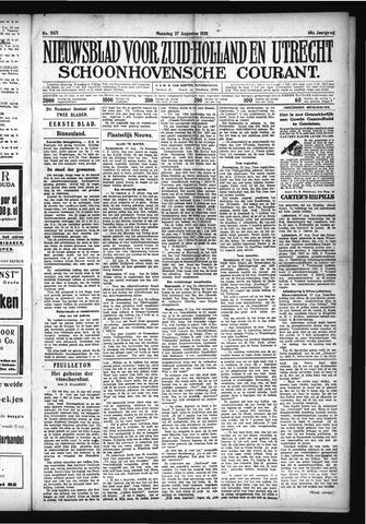 Schoonhovensche Courant 1928-08-27