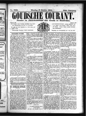 Goudsche Courant 1905-10-17