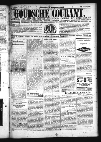 Goudsche Courant 1936-11-14