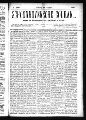 Schoonhovensche Courant 1896-01-18