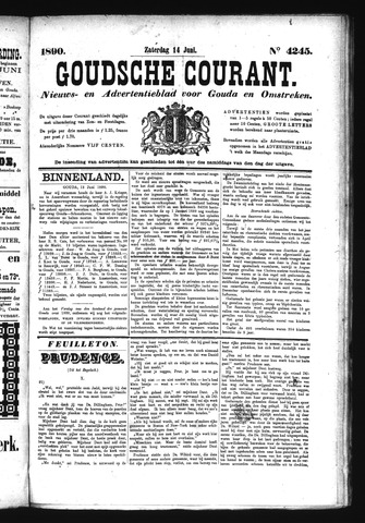 Goudsche Courant 1890-06-14