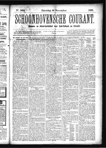 Schoonhovensche Courant 1895-11-30