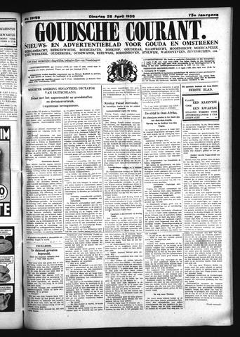 Goudsche Courant 1936-04-28