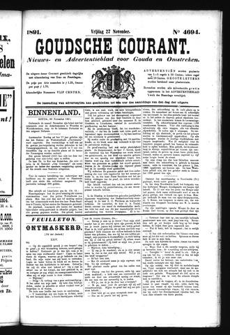 Goudsche Courant 1891-11-27