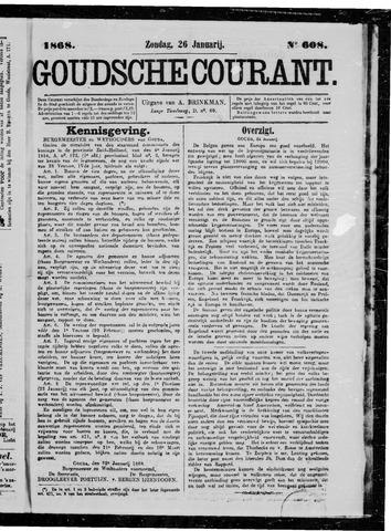 Goudsche Courant 1868-01-26