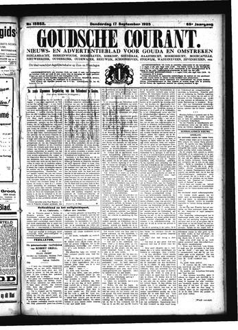Goudsche Courant 1925-09-17