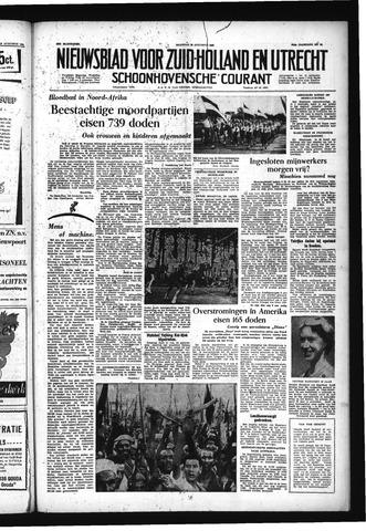 Schoonhovensche Courant 1955-08-22