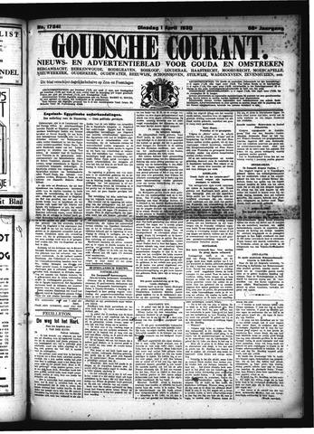 Goudsche Courant 1930-04-01