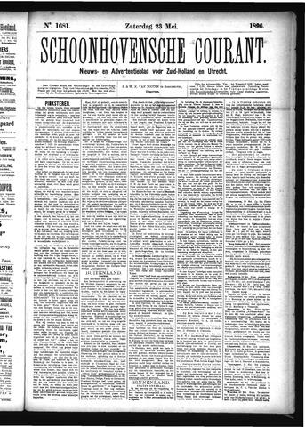 Schoonhovensche Courant 1896-05-23