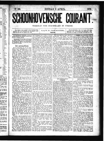 Schoonhovensche Courant 1876-04-09