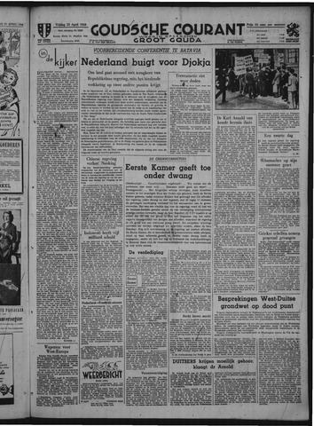 Goudsche Courant 1949-04-22