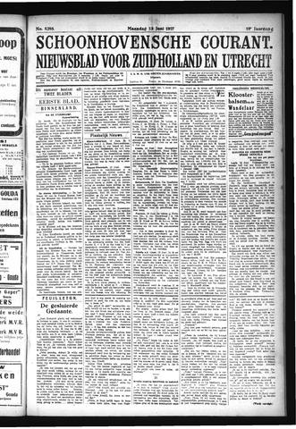 Schoonhovensche Courant 1927-06-13