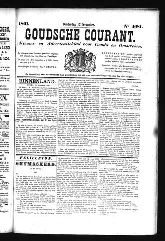 Goudsche Courant 1891-11-12