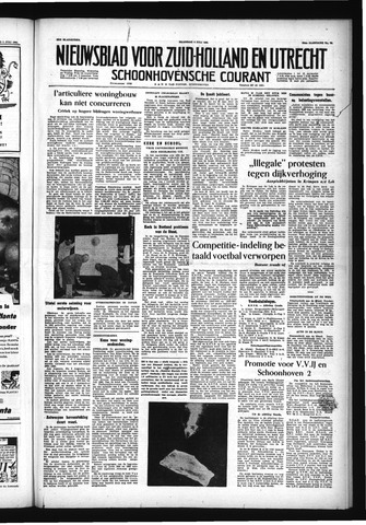 Schoonhovensche Courant 1955-07-04